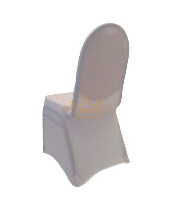 Balti tamprūs kėdžių užvalkalai